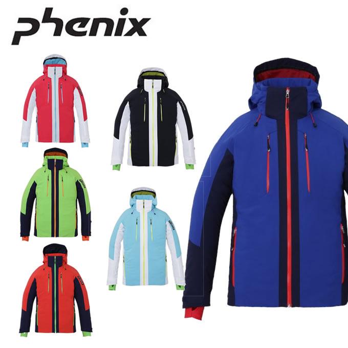 【店頭受取不可商品】数量限定スキーウェア フェニックス Phenix スキーウェア ジャケット メンズ レディース Demo Team Block Jacket PF872OT13