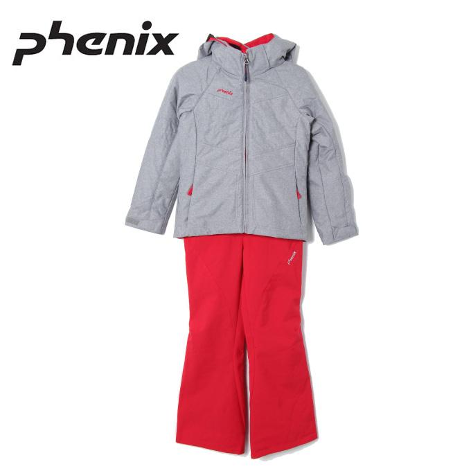 フェニックス Phenix スキーウェア 上下セット ジュニア Mature Girl`s Two-piece PS8H22P91 サイズ調整機能 スノーウェア
