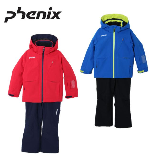 フェニックス Phenix スキーウェア 上下セット ジュニア Mush IV Kid`s Two-piece PS8G22P73 サイズ調整機能 スノーウェア