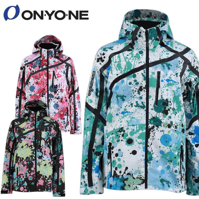 数量限定スキーウェア オンヨネ ONYONE スキーウェア ジャケットメンズ レディース PRINT OUTER JACKET ONJ91P42