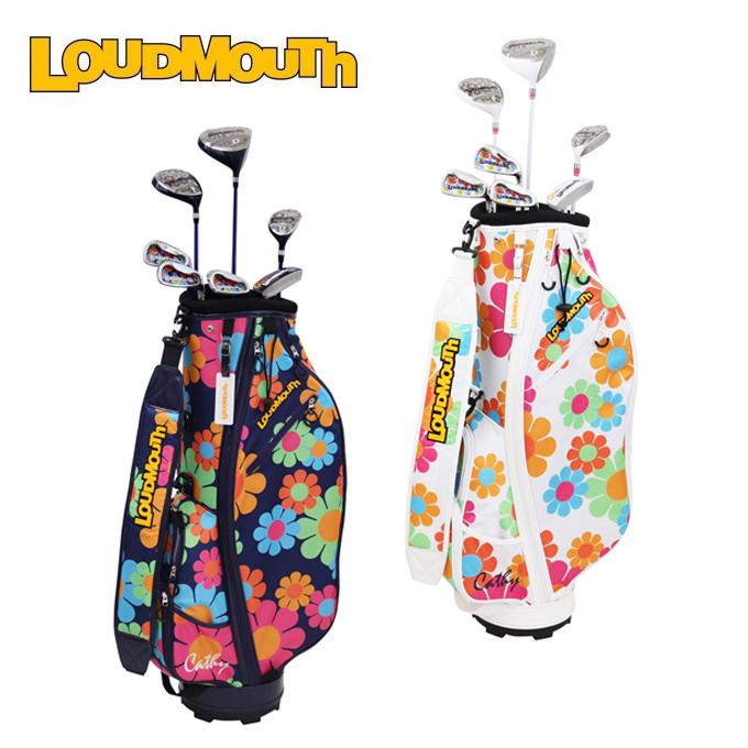 ラウドマウス LOUDMOUTH ゴルフ セットクラブ レディース ハーフセット LM-LS2018 CATHY