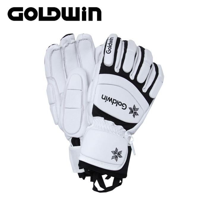 ゴールドウィン GOLDWIN スキーグローブ メンズ レディース Leather Racing Glove レザー レーシング G81800P-T