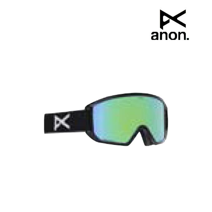 【ウインターアクセサリクーポンで10%OFF 12/19 20:00~12/26 1:59】 アノン ANON スキー スノーボードゴーグル メンズ GOOGLE RELAPSE - ASIAN FIT BK 185381