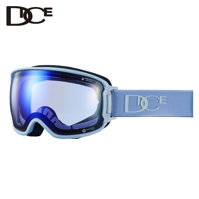 ダイス DICE スキー・スノーボードゴーグル メンズ レディース BANK BK84265MAW