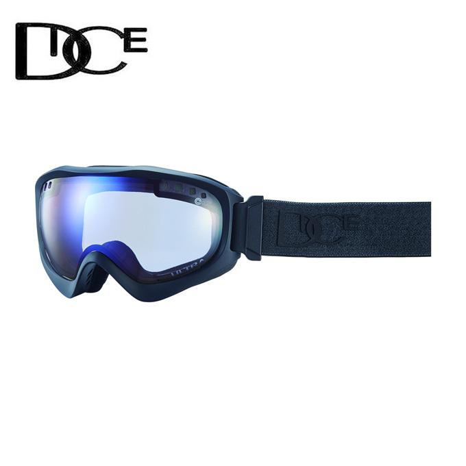 ダイス DICE スキー・スノーボードゴーグル メンズ レディース JACKPOT JP84165MBK