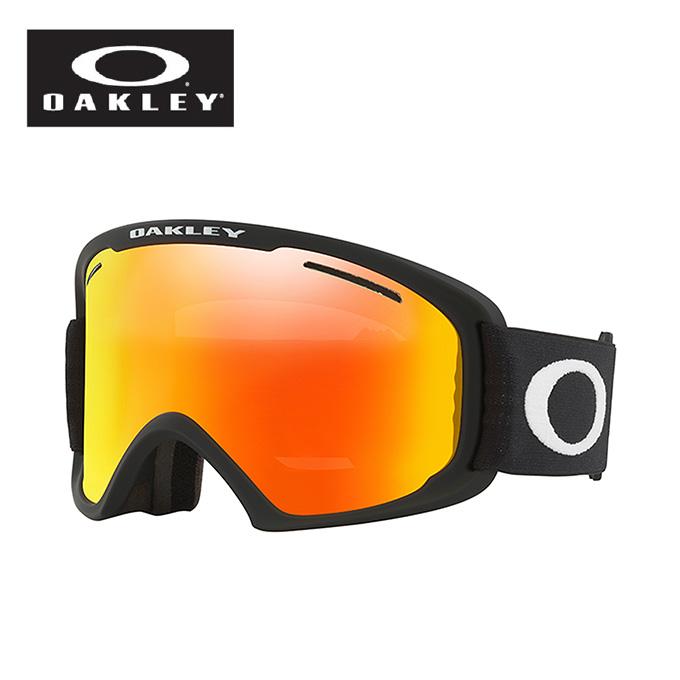 オークリー スキー スノーボードゴーグル メンズ レディース O FRAME 2.0XL Sレンズ付き フレーム OO7082-21 M:BK OAKLEY