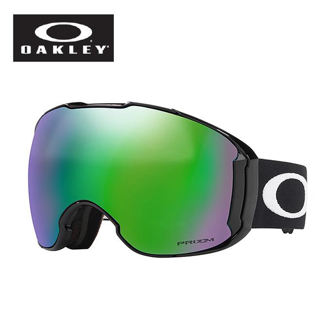 オークリー スキー スノーボードゴーグル メンズ レディース AIRBRAKE XL Sレンズ付き PZ エアブレイク OO7078-27 M:BK OAKLEY