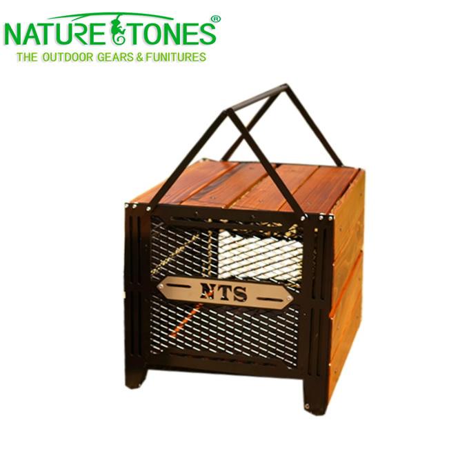 ネイチャートーンズ NATURE TONES アイアングリルテーブル サイドアップボックス&テーブルL SBT-DB-L