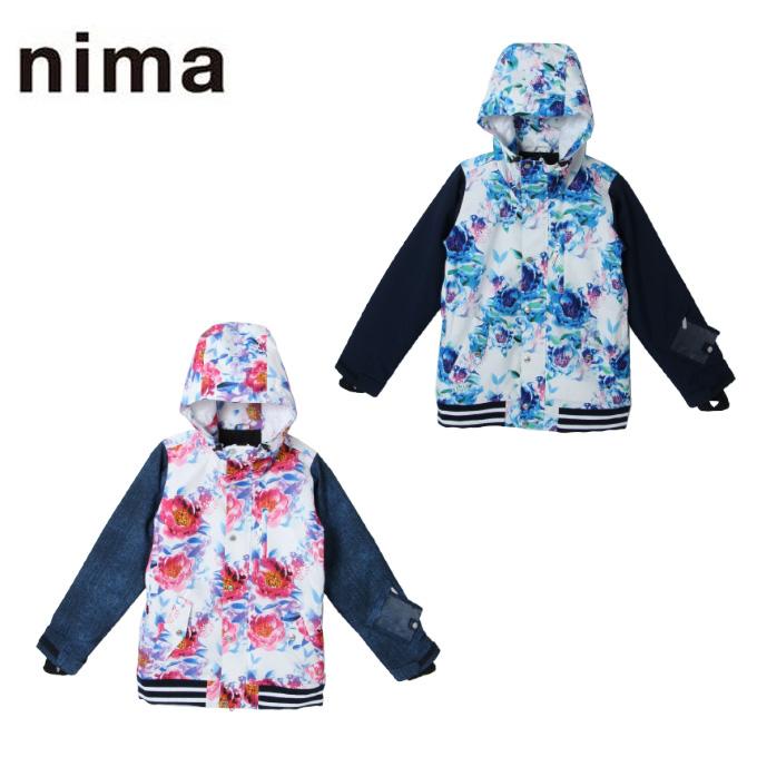 ニーマ nima スノーボードウェア ジャケット レディース SNB JK NB-4010