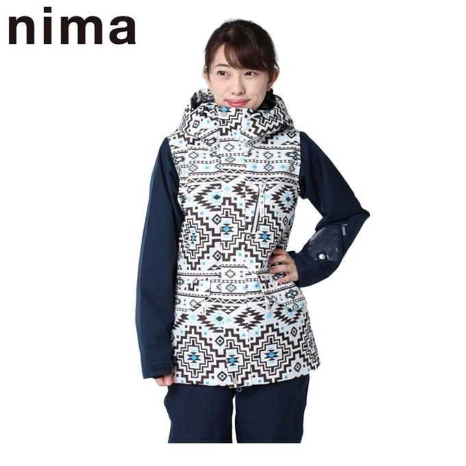 ニーマ nima スノーボードウェア ジャケット レディース NB-4013