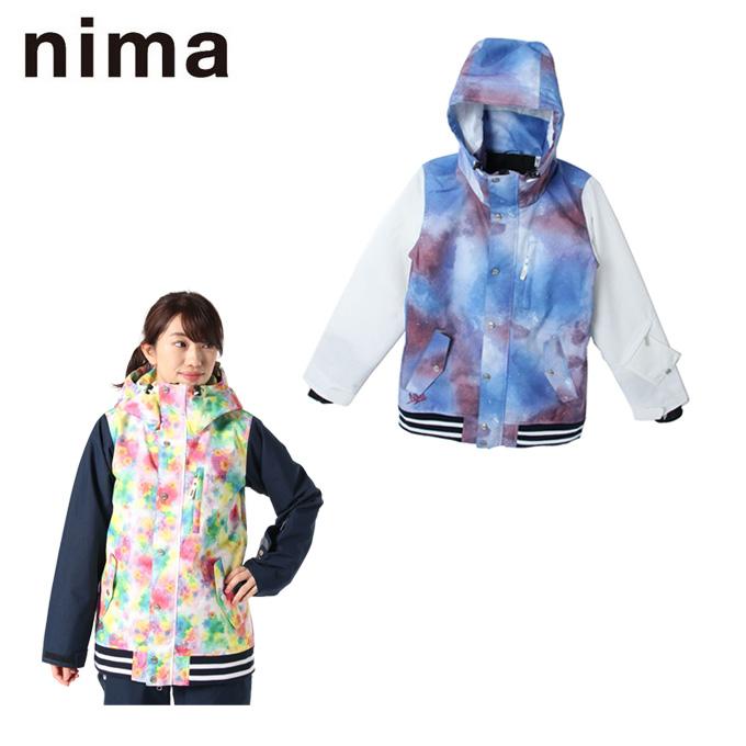 ニーマ nima スノーボードウェア ジャケット レディース SNB JK NB-4015