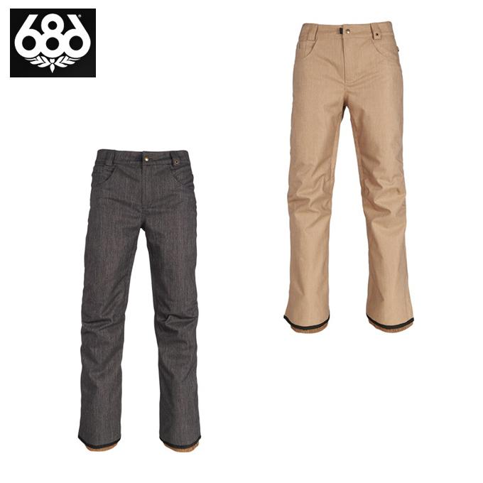 シックスエイトシックス 686 スノーボードウェア パンツ メンズ Raw Insulated Pant L8W208