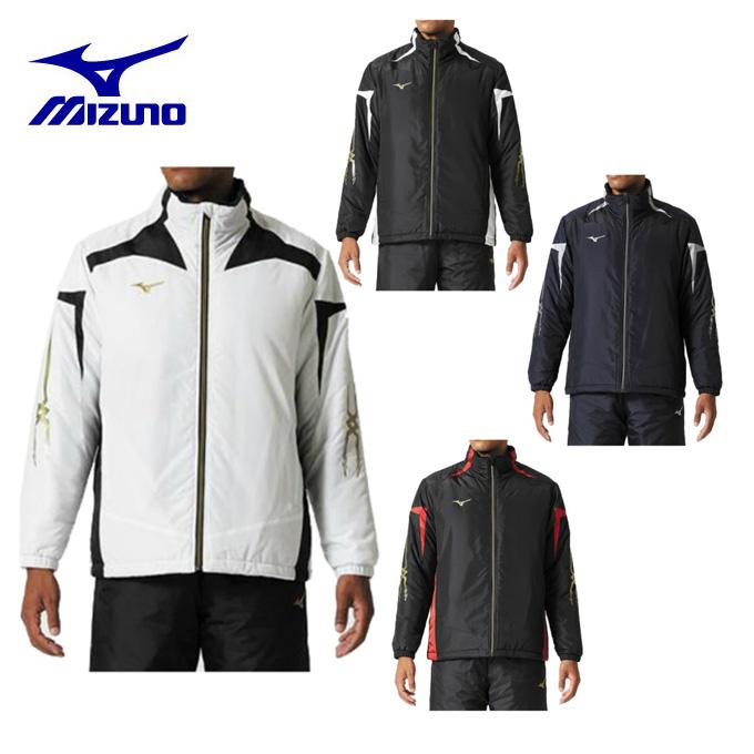 ミズノ ウインドブレーカー ジャケット メンズ ブレスサーモ中綿ウォーマーシャツ 32JE8530 MIZUNO
