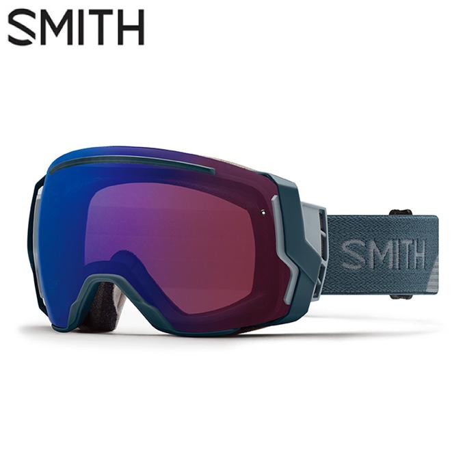 スミス SMITH スキー・スノーボードゴーグル メンズ レディース 限定 GOGGLE スペアレンズ付 I/O 7 THUNDER SPILIT