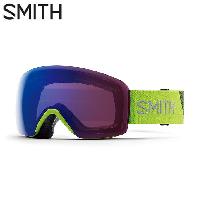 スミス SMITH スキー・スノーボードゴーグル メンズ レディース 限定 調光GOGGLE Skyline Flash
