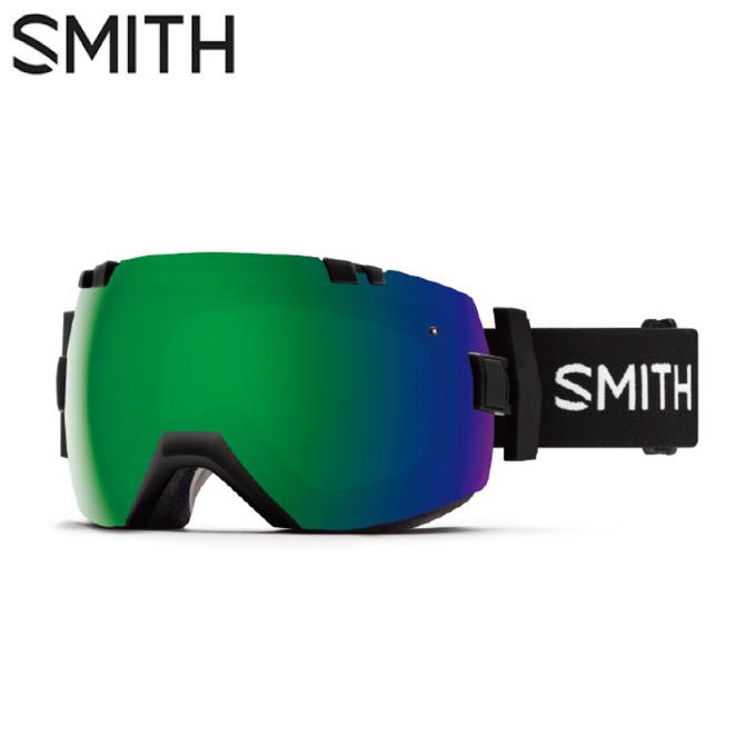 スミス SMITH スキー・スノーボードゴーグル メンズ レディース メガネ対応GOGGLE スペアレンズ付 I/OX BLACK SUN
