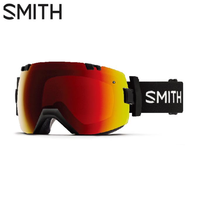 スミス SMITH スキー・スノーボードゴーグル メンズ レディース 眼鏡対応 GOGGLE スペアレンズ付 I/OX BLACK EVERYDAY