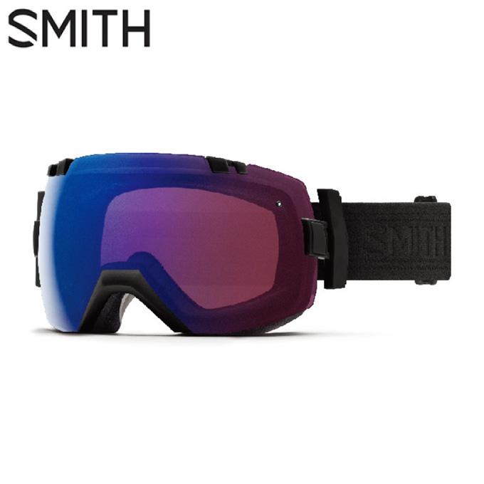 スミス SMITH スキー・スノーボードゴーグル メンズ レディース 調光眼鏡対応 スペアレンズ付 I/OX BLACKOUT
