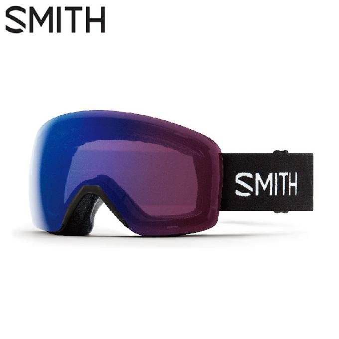 スミス SMITH スキー・スノーボードゴーグル メンズ レディース 調光GOGGLE SKYLINE BLACK PHOTO