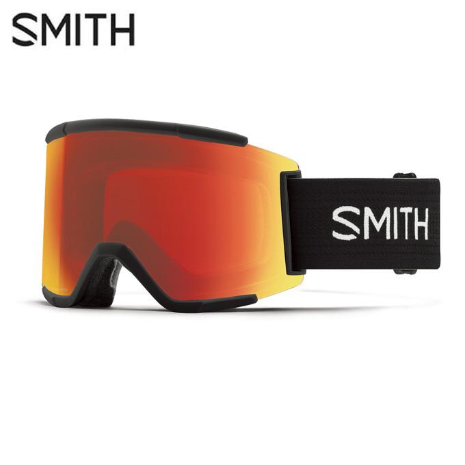 スミス SMITH スキー・スノーボードゴーグル メンズ レディース GOGGLE スペアレンズ付 SQUAD XL BLACK