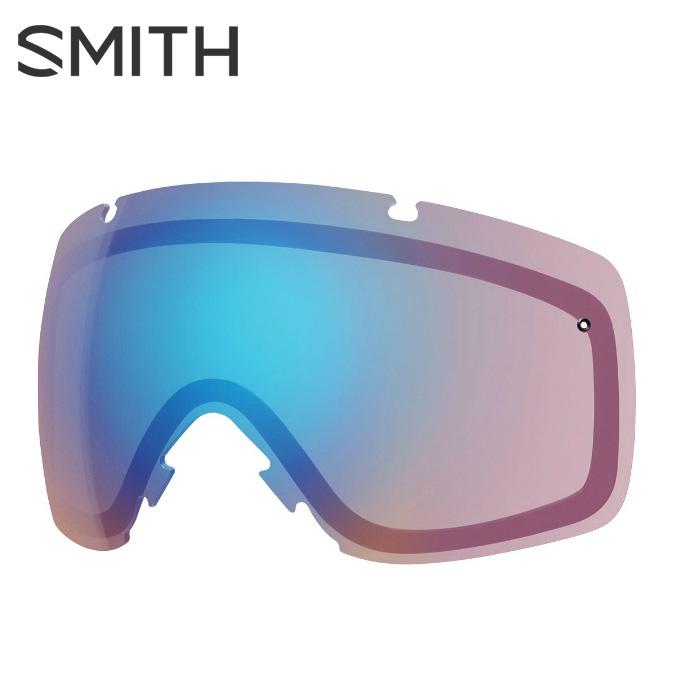 【店頭受取不可商品】スミス SMITH スキー スノーボードゴーグル ゴーグルレンズ I/O CP STORM ROSE FLASH