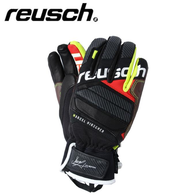 ロイシュ reusch スキーグローブ メンズ レディース GLOVE マルセルヒルシャー MARCEL HIRCHER