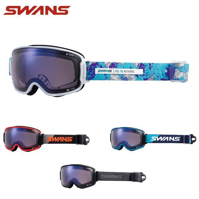 スワンズ SWANS スキー・スノーボードゴーグル メンズ レディース 眼鏡対応GOGGLE 調光 RIDGELINE-CU/MDH-SC-PAF