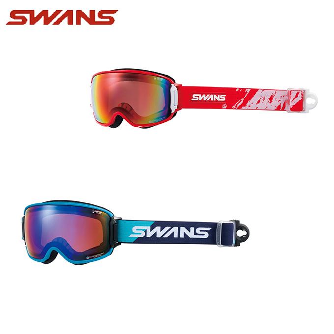 スワンズ SWANS スキー・スノーボードゴーグル メンズ レディース 眼鏡対応GOGGLE 偏光 RIDGELINE-MPDH-SC-PAF