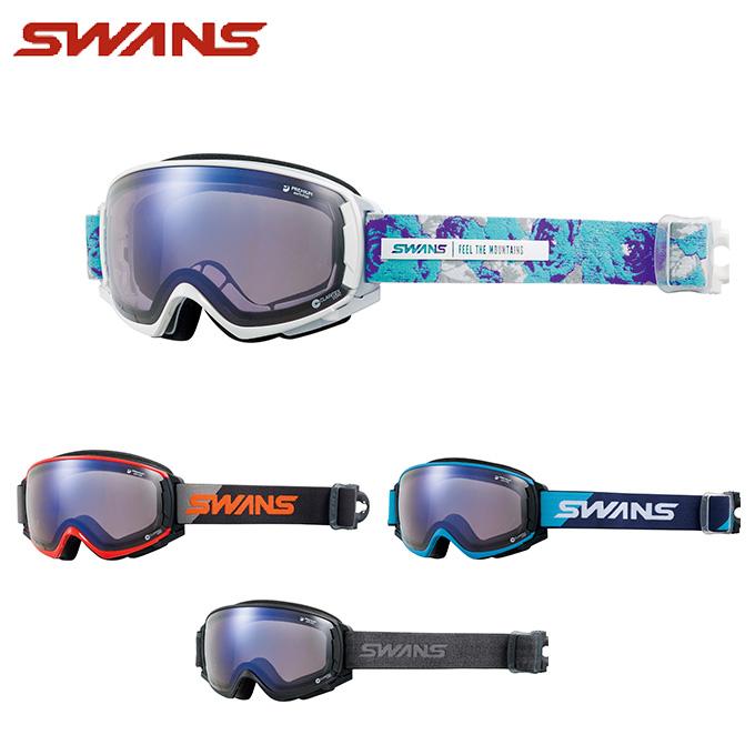 スワンズ SWANS スキー・スノーボードゴーグル メンズ レディース GOGGLE 調光 ROVO-CU/MDH-SC-PAF