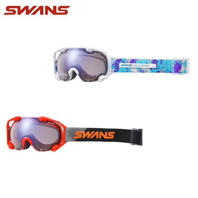 スワンズ SWANS スキー・スノーボードゴーグル メンズ レディース GOGGLE 調光 C2N-CU/MDH-SC-PAF