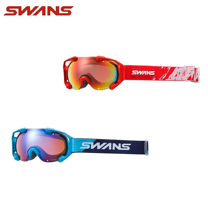 スワンズ スキー スノーボード ゴーグル メンズ レディース GOGGLE 偏光 C2N-MPDH-SC-PAF SWANS スキーゴーグル ボードゴーグル