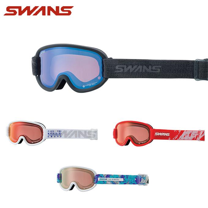 スワンズ SWANS スキー・スノーボードゴーグル メンズ レディース GOGGLE 偏光 V4-MPDH-C-PAF