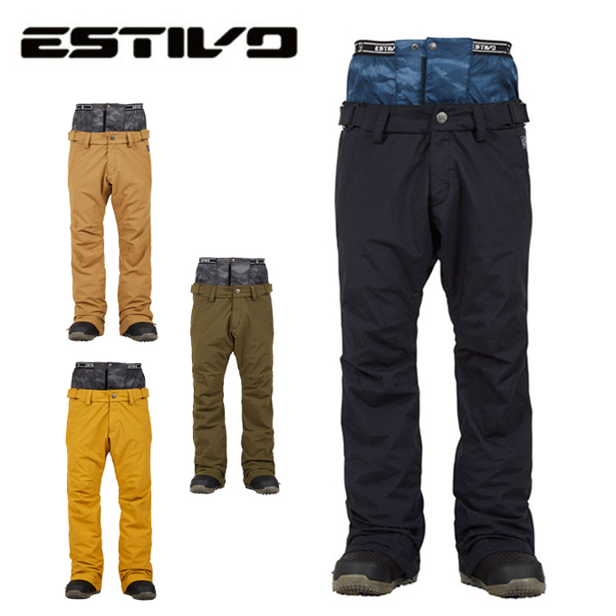 エスティボ ESTIVO スノーボードウェア パンツ メンズ FREEDOM PNT フリーダムパンツ EVM3804
