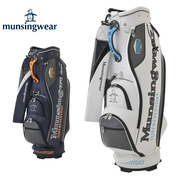 マンシング Munsingwear キャディバッグ メンズ レディース キャディバッグ大口径9.5型 MQBMJJ01