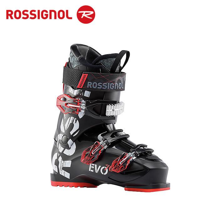 【クーポン利用で1000円引 11/18 23:59まで】 ロシニョール ROSSIGNOL スキーブーツ メンズ EVO 70 BLACK/RED RBH8160