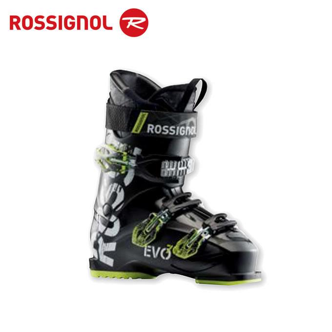 【クーポン利用で1000円引 11/18 23:59まで】 ロシニョール ROSSIGNOL スキーブーツ メンズ EVO 70 BLACK/YELLOW RBH8150
