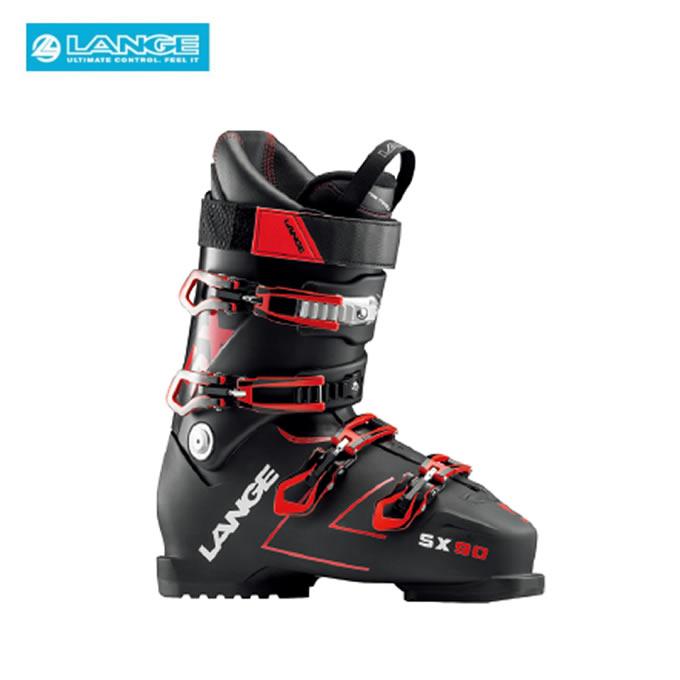 【ポイント3倍 10/11 8:59まで】 ラング LANGE スキーブーツ メンズ SX 90 tr. black-red LBH6040