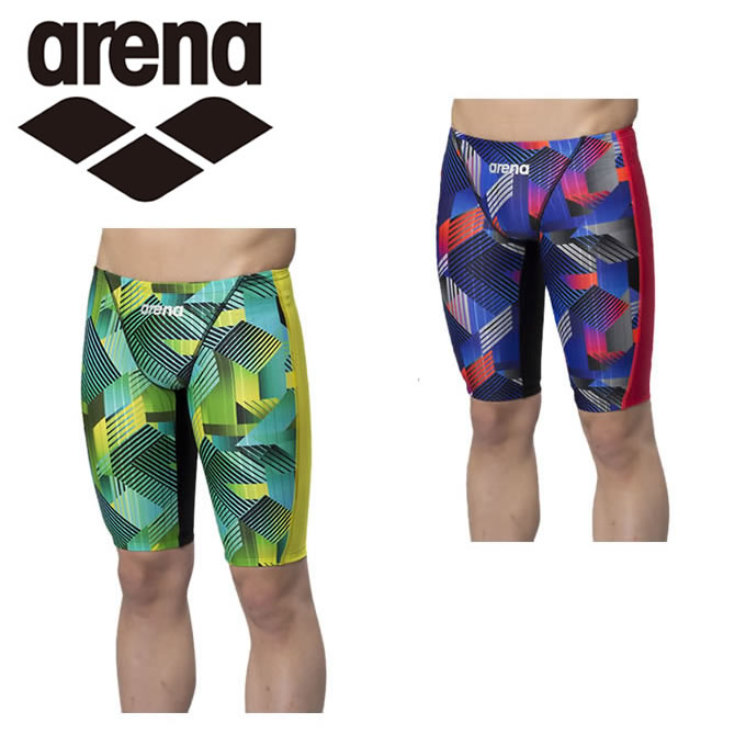 アリーナ arena FINA承認 競泳水着 ハーフスパッツ メンズ AQUA RACING マスターズSP FAR-8571M