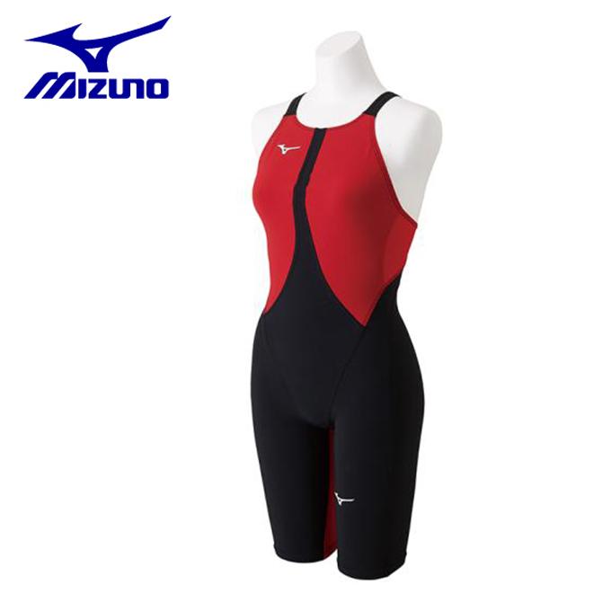 ミズノ FINA承認 競泳水着 レディース MX-SONIC02 ハーフスーツ N2MG8211-51 MIZUNO
