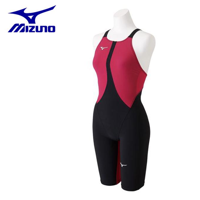 【店頭受取不可商品】ミズノ FINA承認 競泳水着 レディース MX-SONIC02 ハーフスーツ N2MG8211-57 MIZUNO