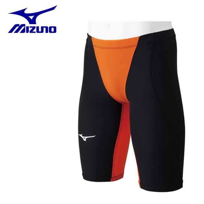 【店頭受取不可商品】ミズノ FINA承認 競泳水着 ハーフスパッツ メンズ MX-SONIC02 N2MB8011-54 MIZUNO