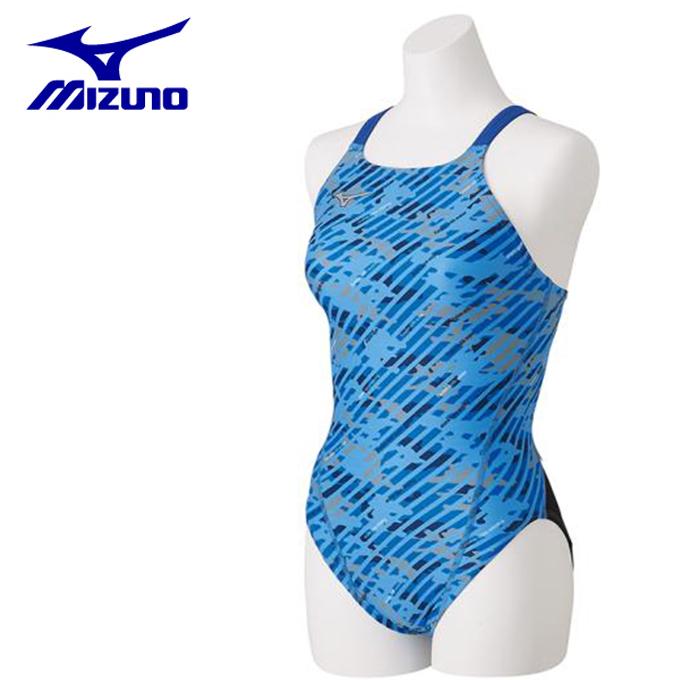ミズノ トレーニング水着 レディース ミディアムカット N2MA8766-27 MIZUNO