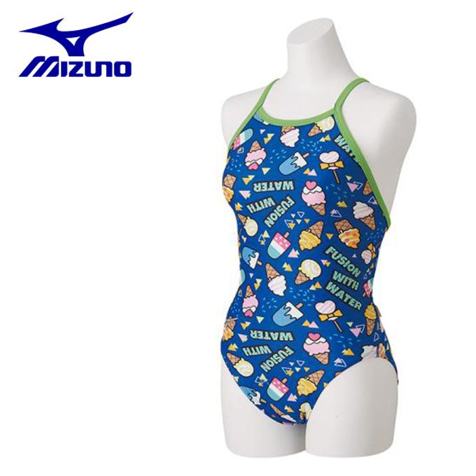 【店頭受取不可商品】ミズノ トレーニング水着 ミディアムカット レディース N2MA8770-27 MIZUNO
