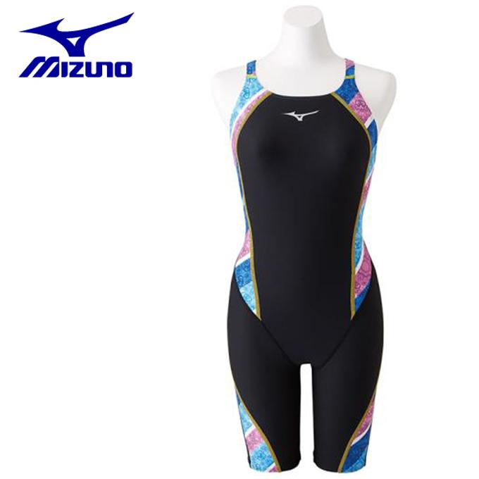 ミズノ トレーニング水着 ハーフスパッツ レディース TERAKAWA AYA COLLECTION ハーフスーツ N2MG8762-27 MIZUNO
