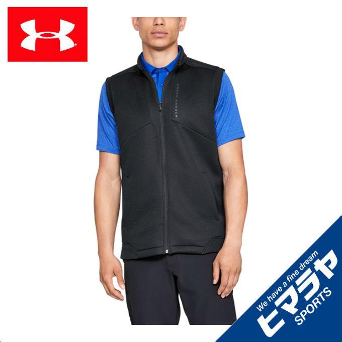 アンダーアーマー ゴルフウェア ベスト メンズ UAストームデイトナベスト 1317343-001 UNDER ARMOUR