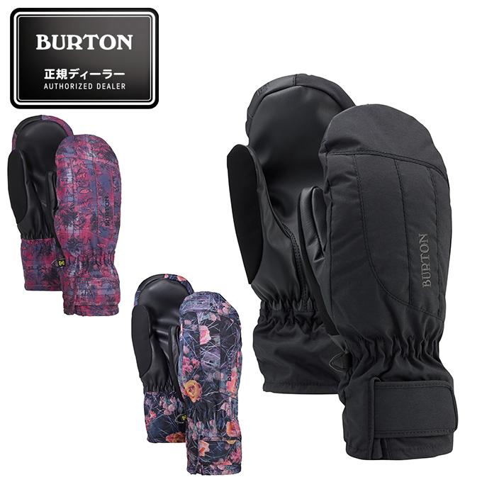 【ウインターアクセサリクーポンで10%OFF 12/19 20:00~12/26 1:59】 バートン スノーボードグローブ レディース ミトン Women's Burton Profile Under Mitten 103931 BURTON
