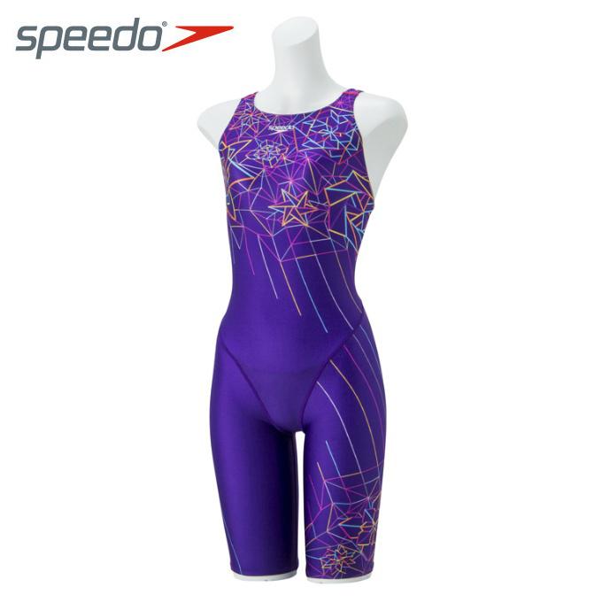 スピード speedo FINA承認 競泳水着 レディース FLEX ΣII フレックス シグマ ツー セミオープンバックニースキン II SD48H56-PM
