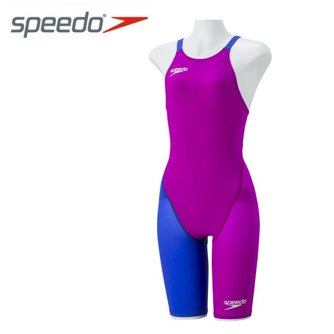 スピード speedo FINA承認 競泳水着 ハーフスパッツ ジュニア FASTSKIN FS-PRO2 ニースキン SD38H06-DB