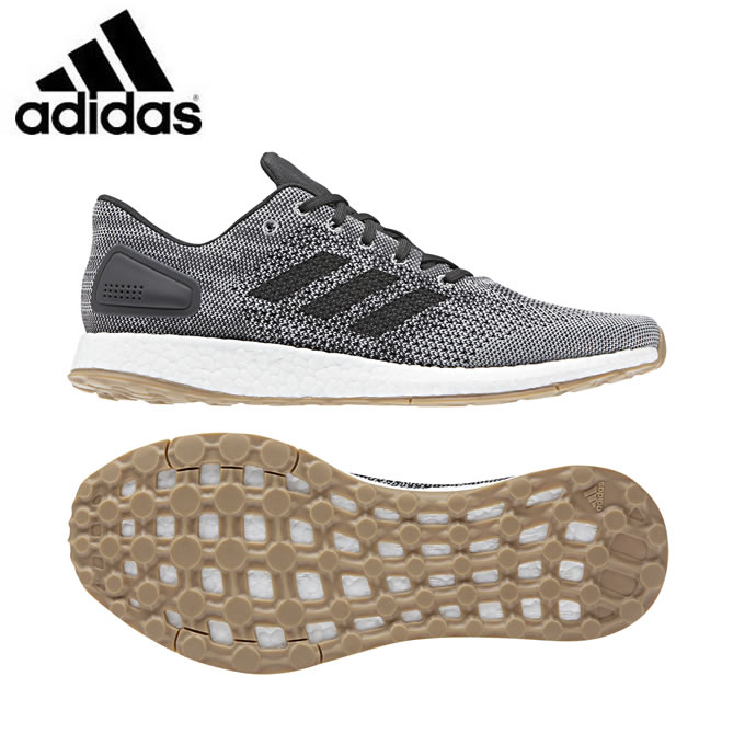 アディダス ランニングシューズ メンズ Pureboost ピュアブースト DPR Shoes CM8319 EFE71 adidas