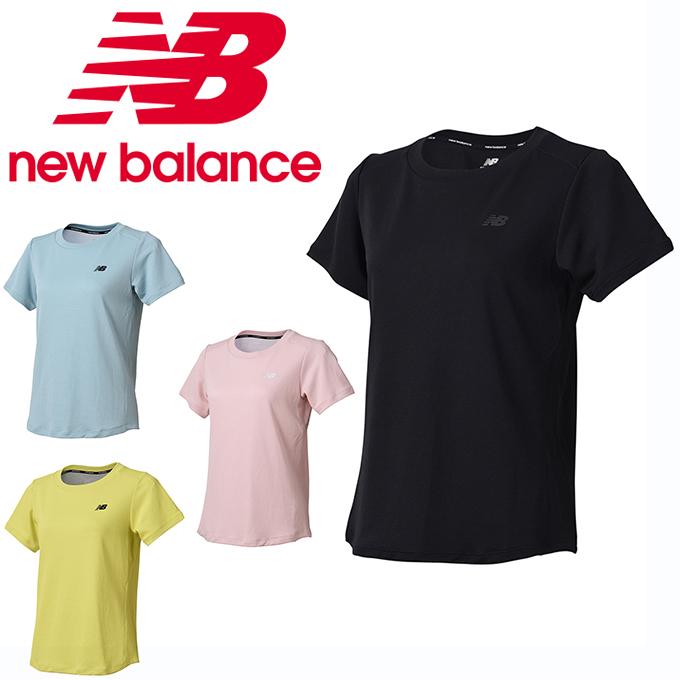 24441c3f04af1 ニューバランスTシャツ半袖レディースダブルニットトレーニングショートスリーブTシャツJWTP8520newbalance